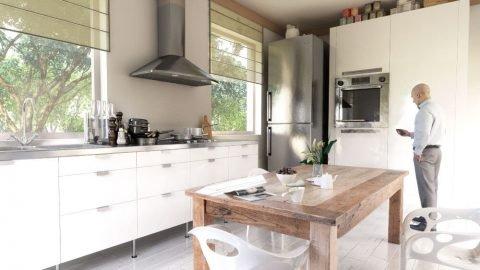 render cucina  Rendering di interni cucina 480x270