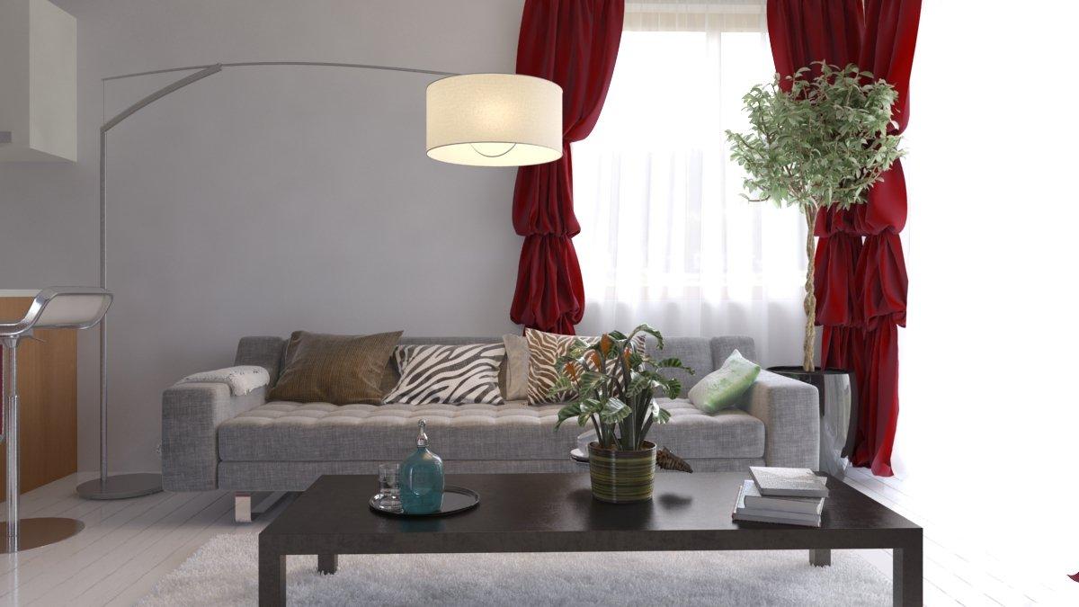 rendering di soggiorno  Rendering di soggiorno a Bordighera rendering di interno soggiorno