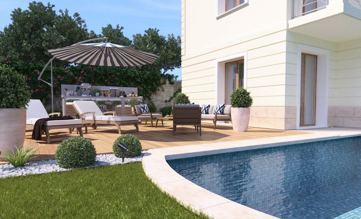 Rendering esterno villa studio grafico af for Esterni di ville