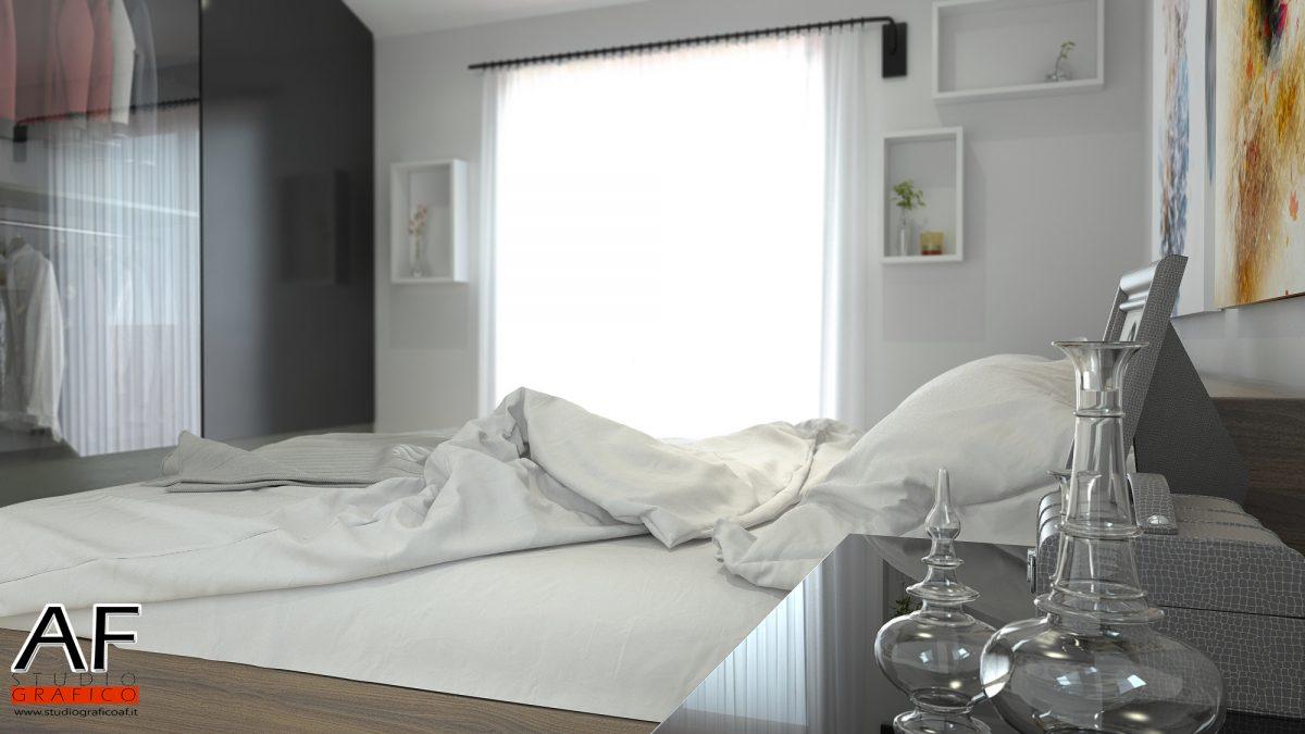 Rendering di interni – Appartamento Rendering di camera da letto 1 1200x675