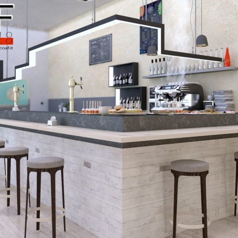 rendering di interni bar ristorante  Rendering Bar ristorante rendering bar 4 480x480