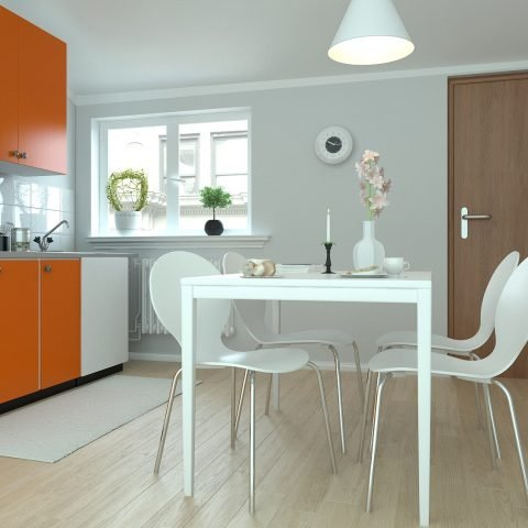 Rendering di interni – Appartamento rendering cucina 1 480x480