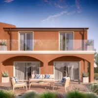 endering di esterno villa bifamiliare  Villa Bifamiliare rendering di esterno villa bifamiliare 3 200x200