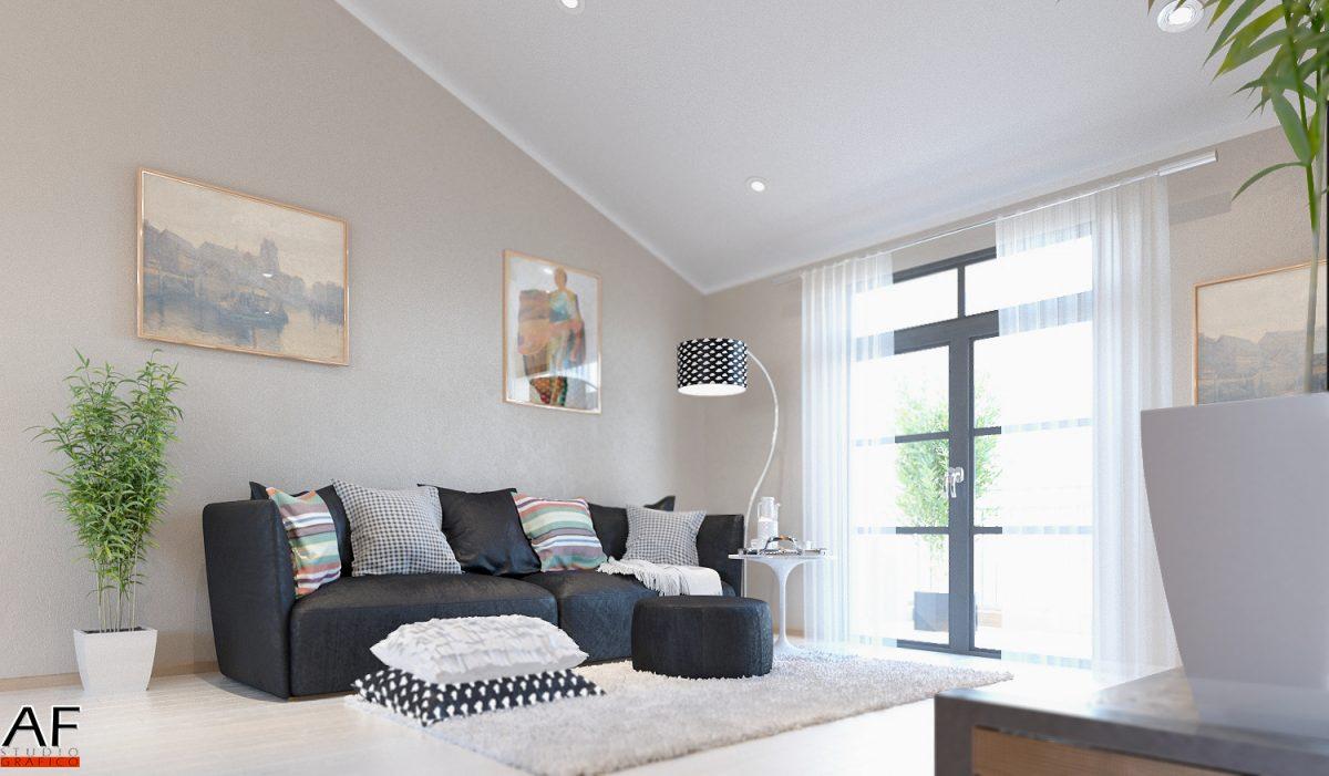 Rendering di interni – Appartamento rendering soggiorno 1 1200x701
