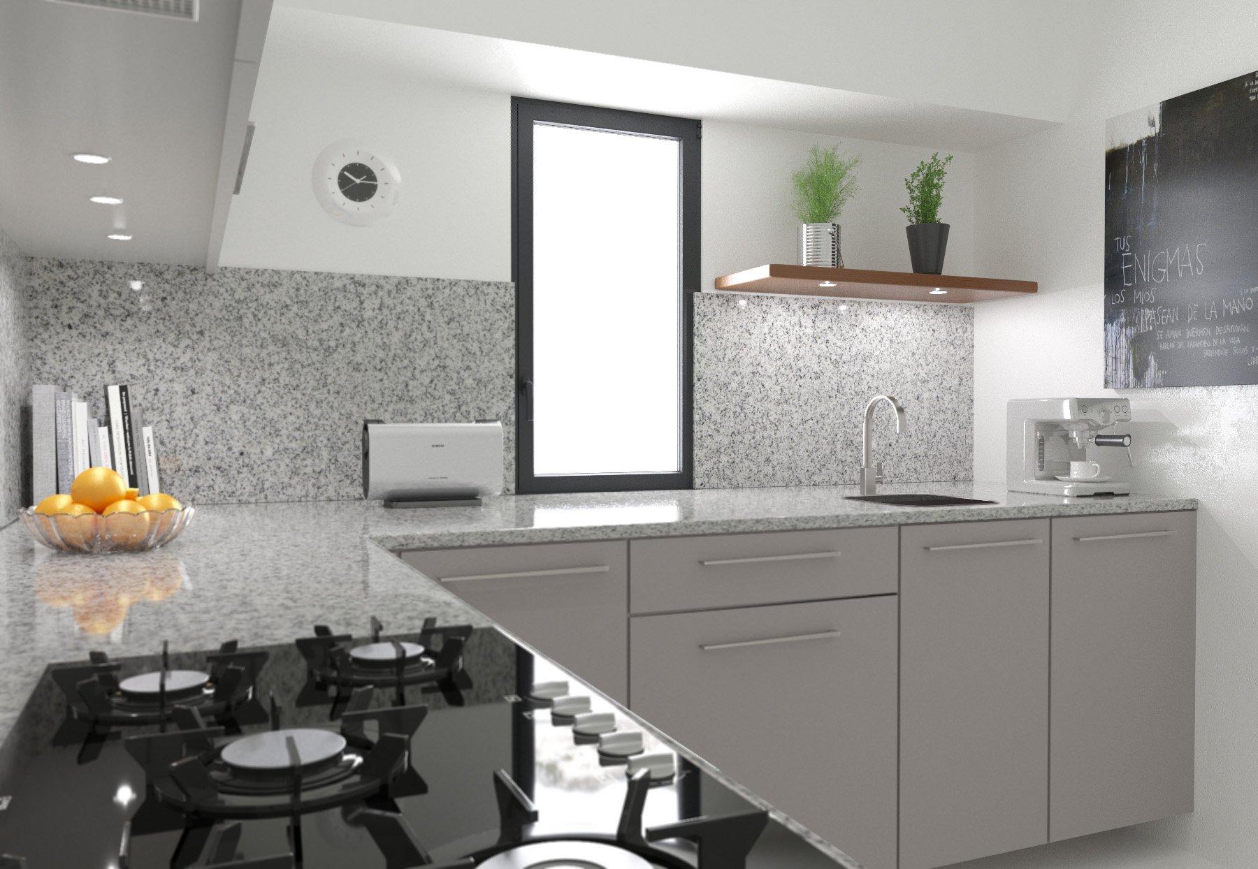 rendering cucina 2  Cucina da foto reference rendering cucina 2